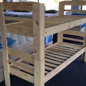 Pine Double Bunk (Raw)